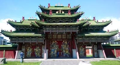 Bodh Khan Palace in Mongolia