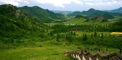 Scenery in Mongolia