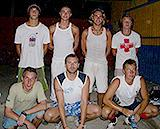 Sporty volunteers