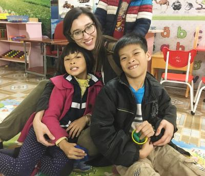 Speech therapy volunteer in Vietnam