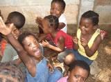 Children at the crèche