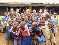 Voluntary care community project Ghana