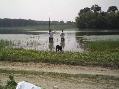 Fishing at Popina Bordusani