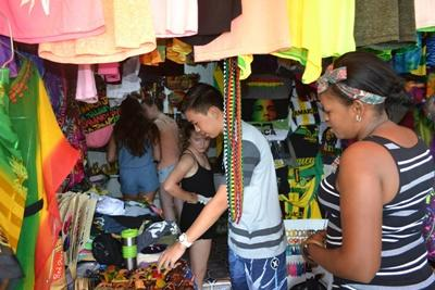 The market in Jamaica