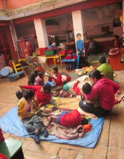 Volunteer physio placement Nepal