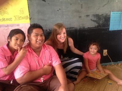 Volunteering in Samoa