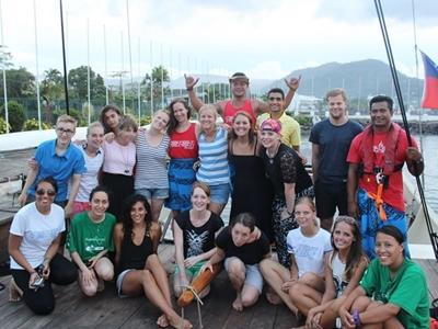 Volunteers in Samoa