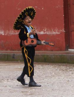 Boy in traditional dress