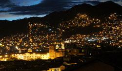 Cusco at night