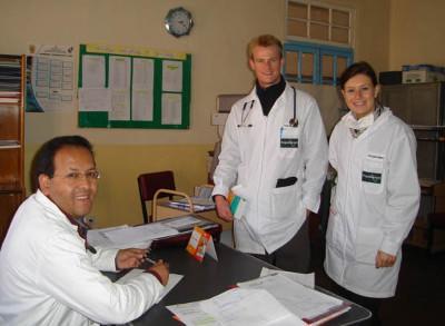Lorena hospital staff
