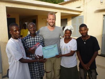 Senegal workmates