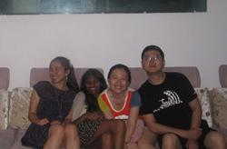 Host family in China