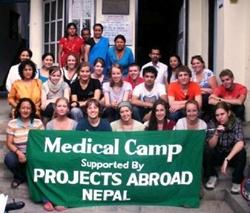 Projects Abroad Medical Camp