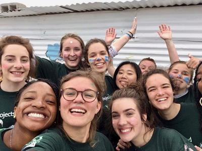 High School Special Care & Community volunteers in South Africa