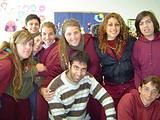 With one of my classes
