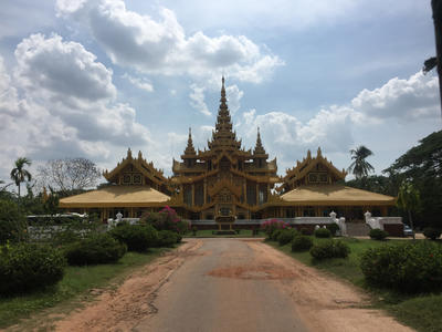 A temple in Myanmar