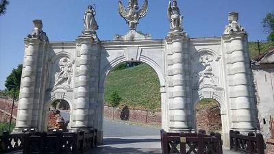 Gate 1 of the Citadel in Romania