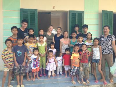 Children at the Homeless Shelter