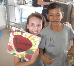 Voluntary care project Cambodia