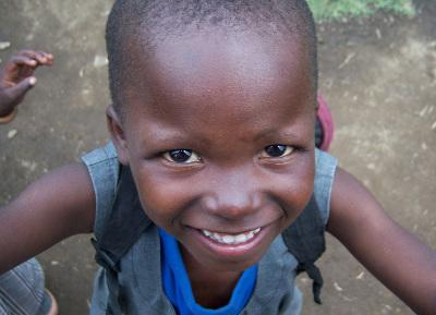 Child in Kenya