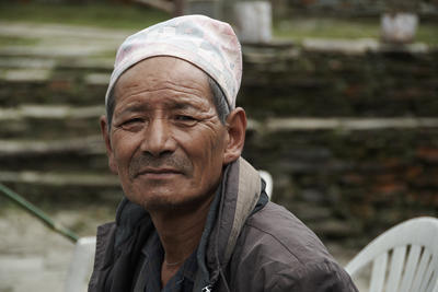 A local man in Nepal