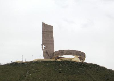 Statue in Mongolia