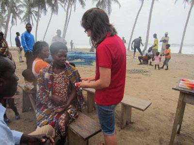 Medical outreach visit