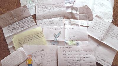 Letters from the children