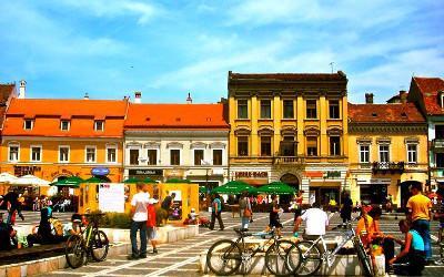 The centre of Brasov