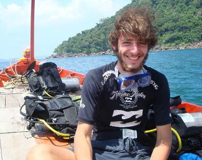 Volunteer diving project in Cambodia