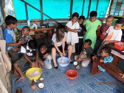 Volunteer in Fiji