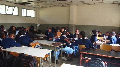 Teaching in Ethiopia