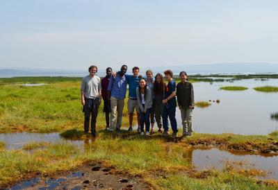 Volunteers in Kenya