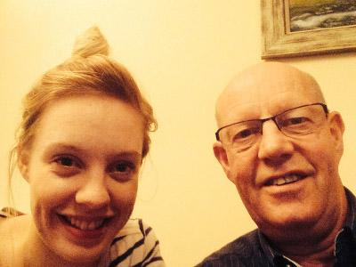 Jennifer and her dad