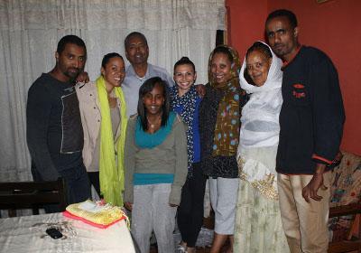 Ethiopia host family