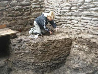 Excavating the walls