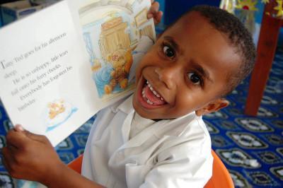 Child in Fiji