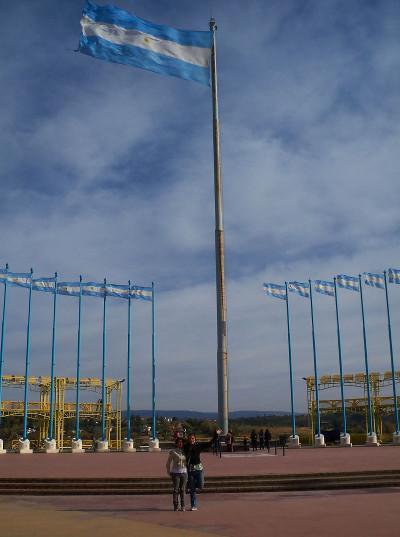 Giant Argentina flag