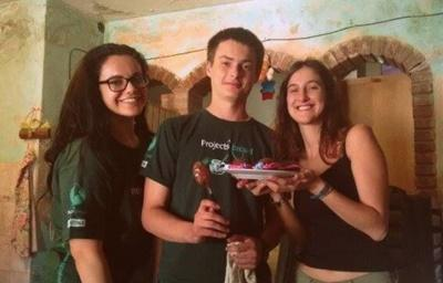 Volunteers in Argentina