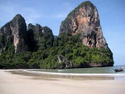 Beach at Railay