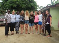 Volunteer community project Ghana