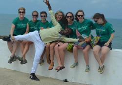 Volunteer weekend trip Ghana