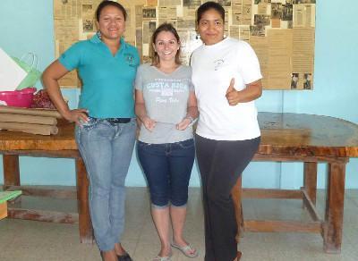 With fellow teachers