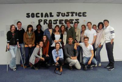 Human Rights volunteers