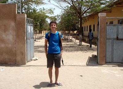 Outside my school