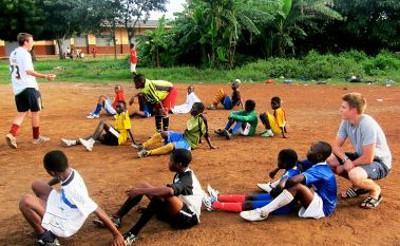 Coaching the children