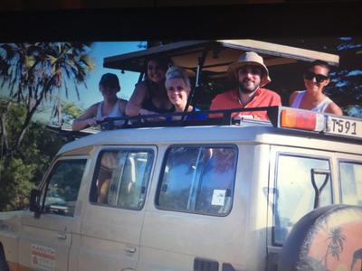 Volunteers go on safari in Tanzania