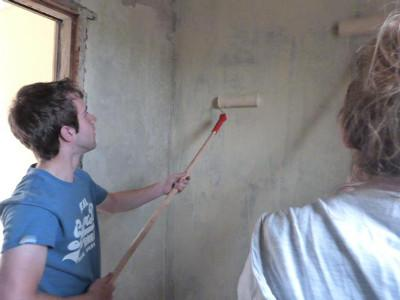 Painting project in Kenya