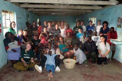 Volunteers in Kenya