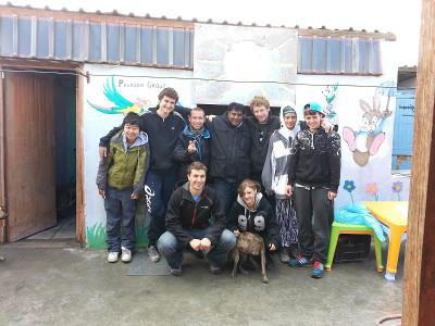 Volunteers in South Africa